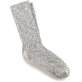 Birkenstock Cotton Slub Socks Dame Gray White